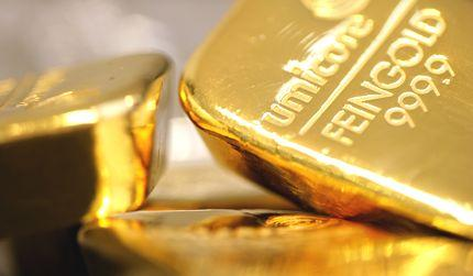 Gibanje cen zlata