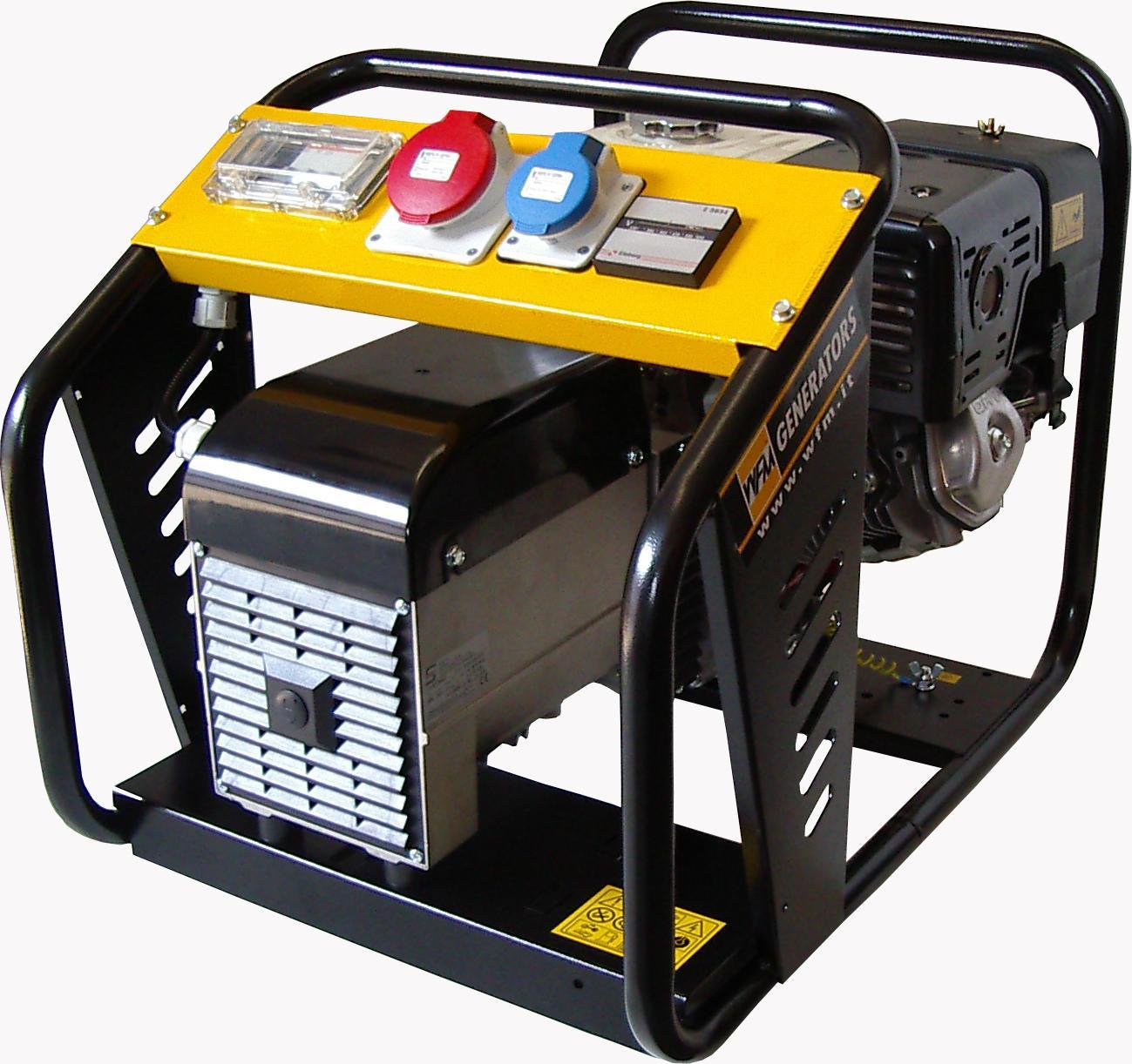 Električni agregat bencinski motor