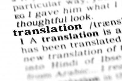 Prevajanje besedila