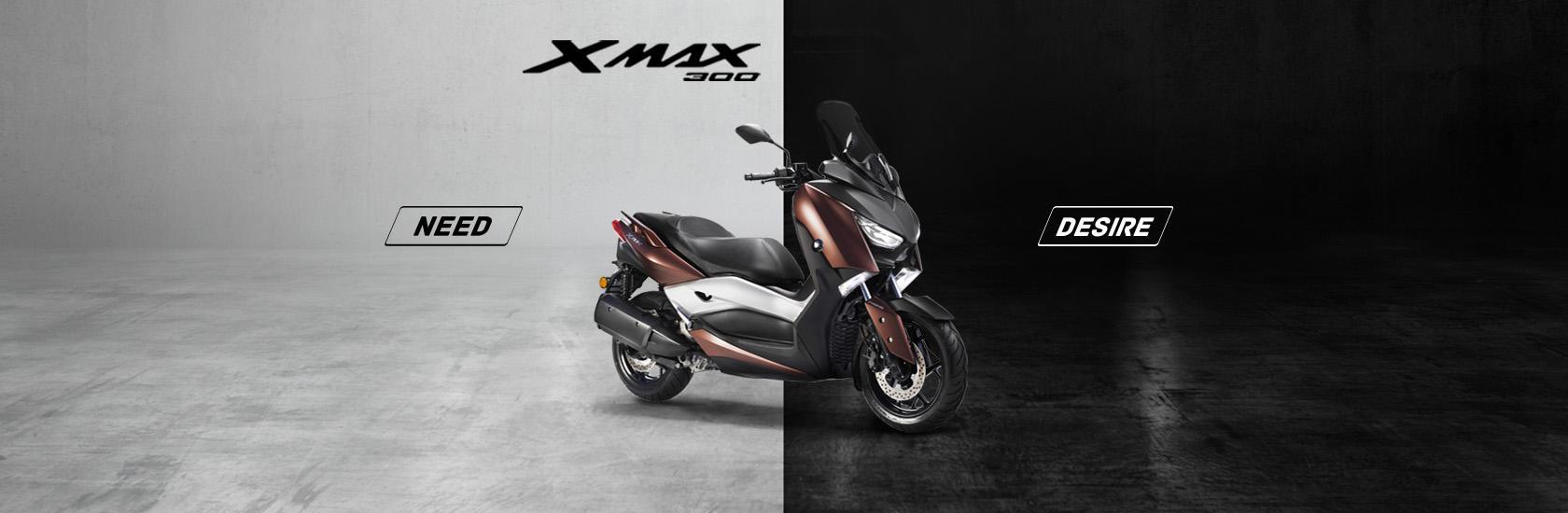 maksi skuterji Yamaha pri KMC-ju