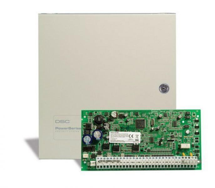 Protivlomni alarmni sistem je sestavljen iz alarmne centrale, tipkovnice, senzorjev in sistema za obveščanje