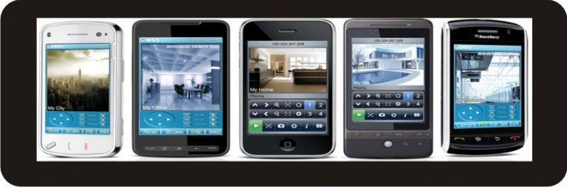 Video nadzor z mobilnim dostopom