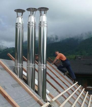 gradnja inox dimnika