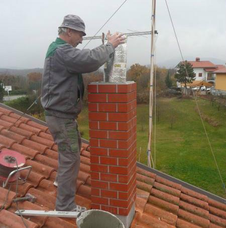 Vzdrževanje dimnikov Schiedel različnih dimenzij