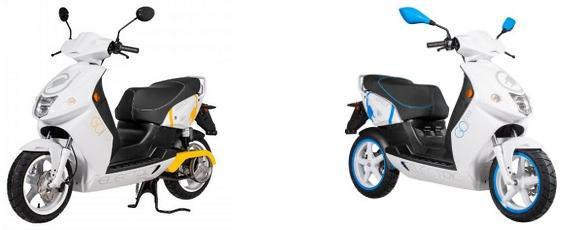 Električno vozilo - skuter