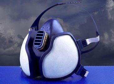 Zaščitna maska za dihala