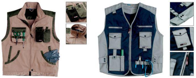 Brezrokavnik in ostala delovna oblačila