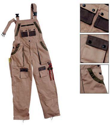 Delovne hlače z naramnicami