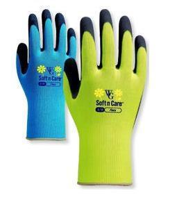 Delavske rokavice iz lateksa