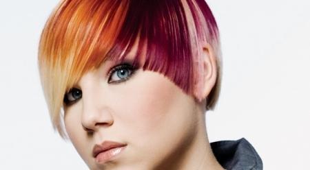 Modno barvanje las