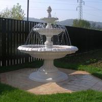 Vrt lahko dopolnite y vodnjakom