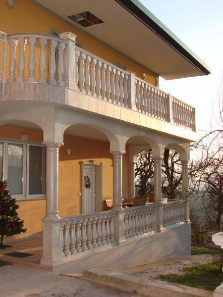 Balkonske ali vrtne betonske ograje
