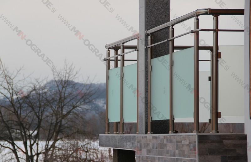 Inox balkonske ograje