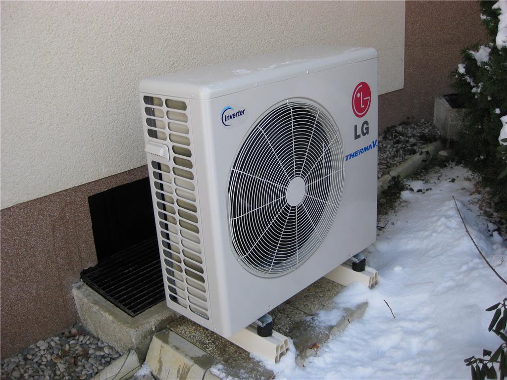 Toplotna črpalka za ogrevanje hiš