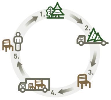 Sledljivost lesa FSC in PEFC