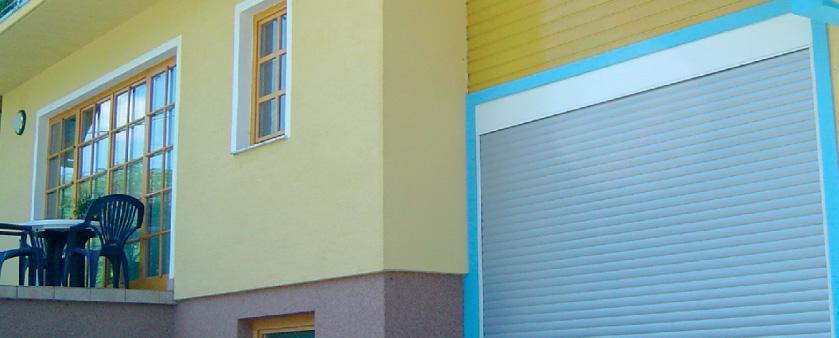Rolo garažna vrata iz kvalitetnih alu materialov