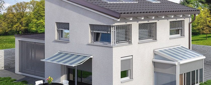 PVC okna in senčila za okna