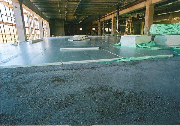 Toplotna izolacija tal in temeljev