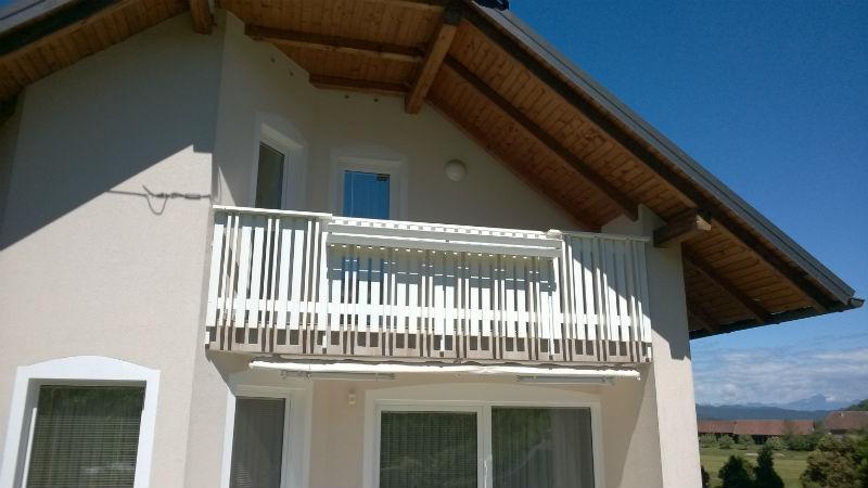 Dimenzije balkonske ograje