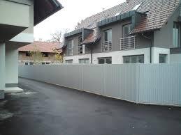 PVC dvoriščne ograje
