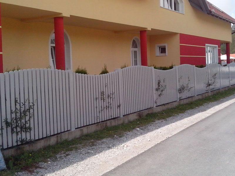 Stebrički za PVC ograje