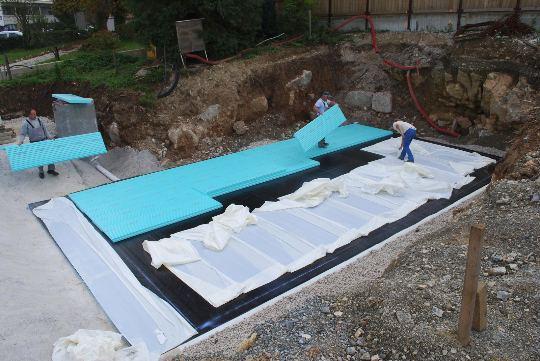 Hidroizolacija temeljev hiše Fibran
