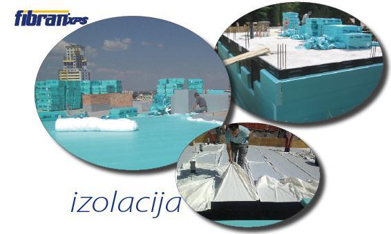 Toplotna izolacija bazena ali stropa