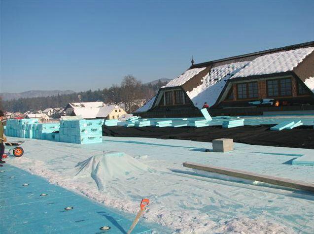 Izolacija notranje strani strehe
