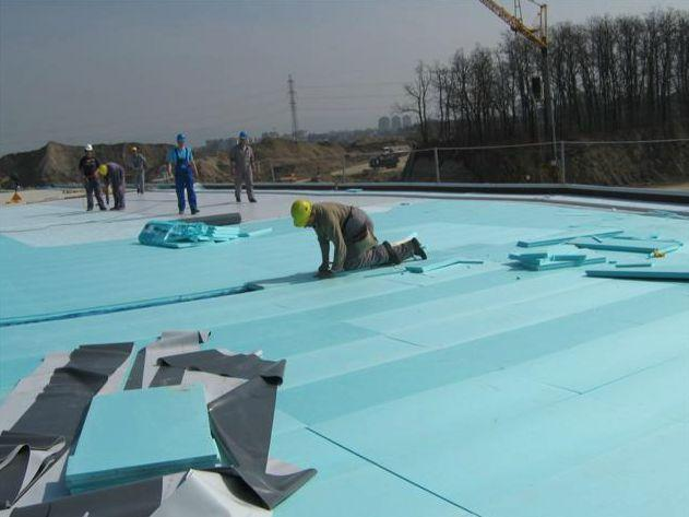 Izolacija ravne strehe in vrt na strehi