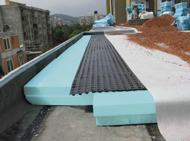 Strešna izolacija ravne strehe