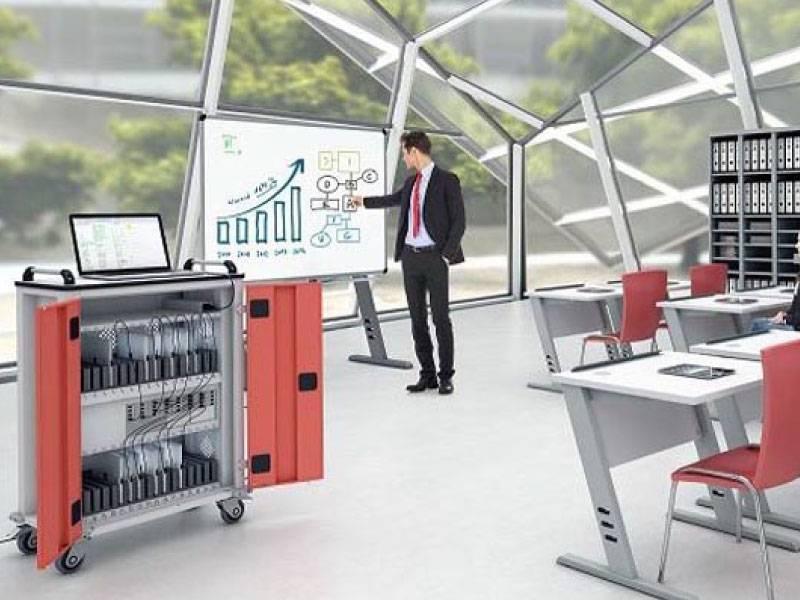 Kovinsko pohištvo za računalniško opremo