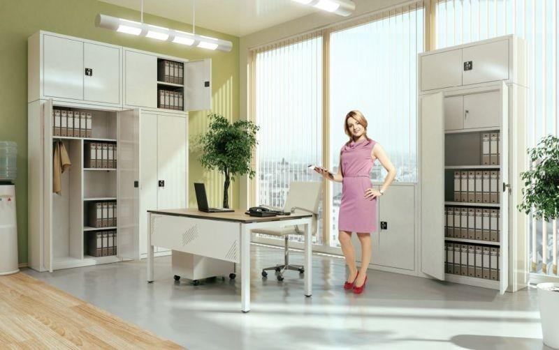 Kovinsko pohištvo za pisarne