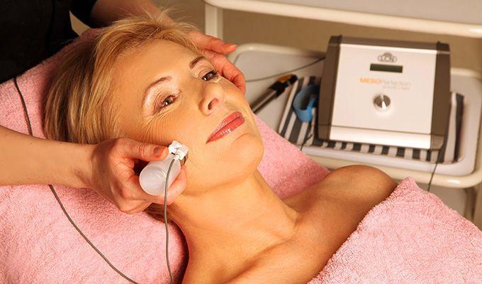 Suha koža na obrazu - čiščenje