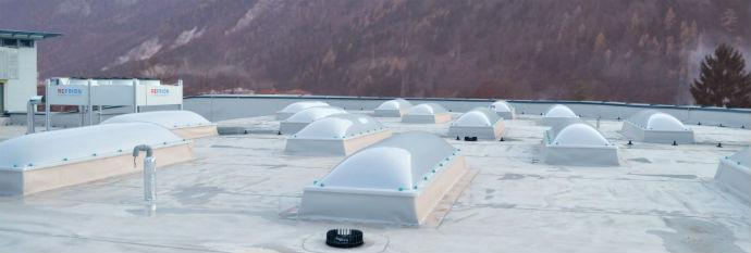 ravne strehe detajli