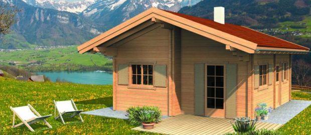 Cenik lesene hiše