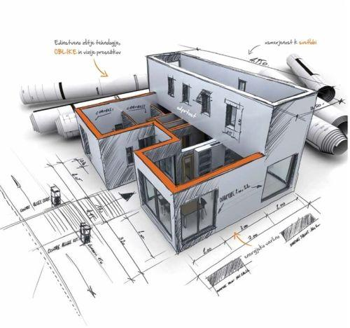 Gradnja hiše Marles