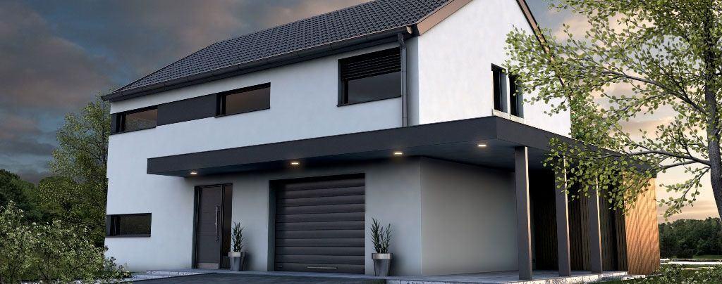 Gradnja pasive hiše