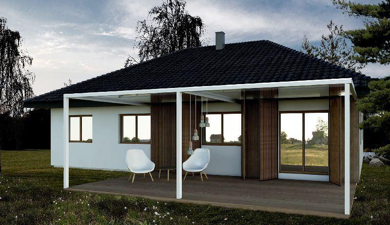 Majhne montažne hiše