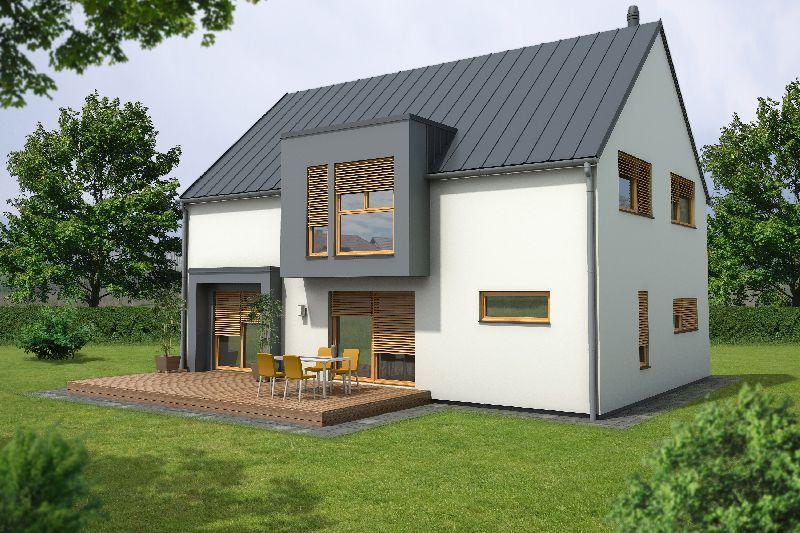 Moderne montažne hiše Marles