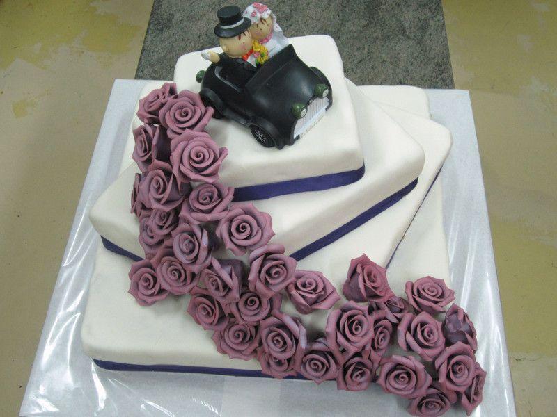 Izdelava poročne torte