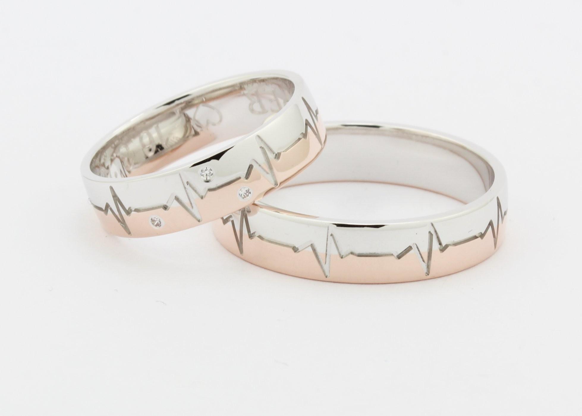 Poročni prstani po naročilu srebrni