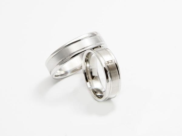 Srebrni poročni prstani