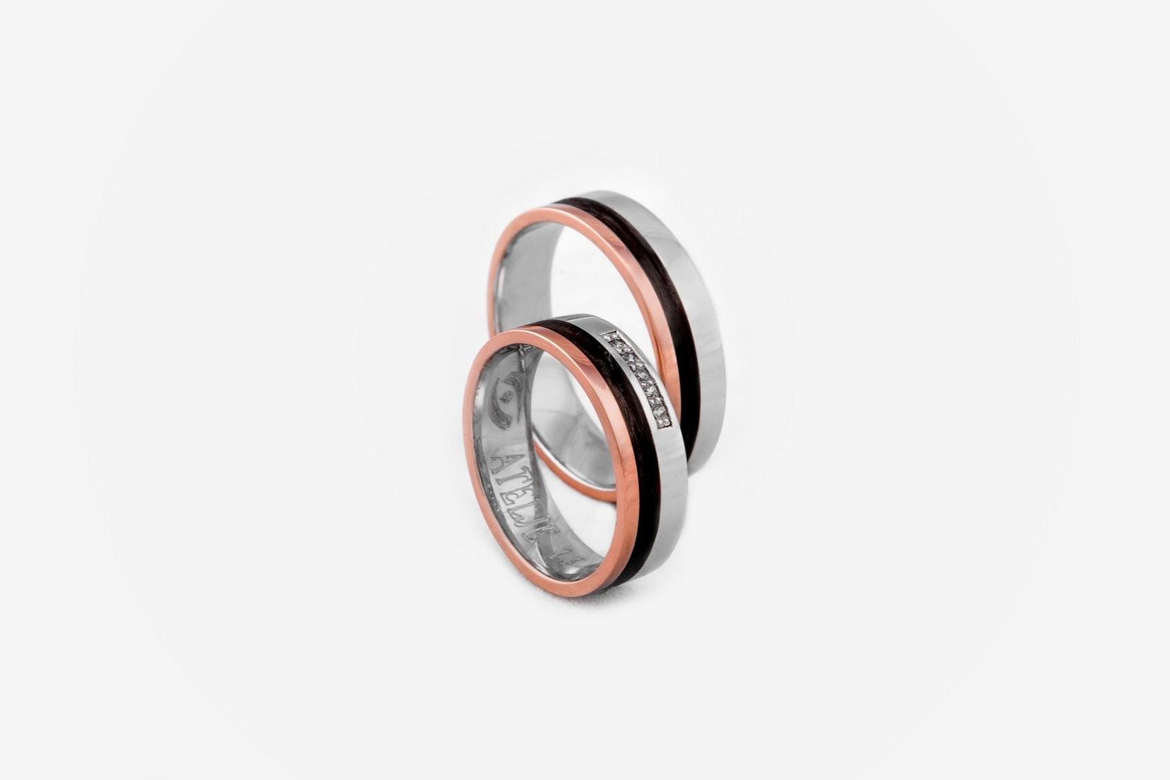 Unikatni poročni prstani iz karbona