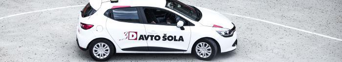 pregled za vozniški izpit Ljubljana 3D avtošola