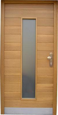 Cena vhodnih vrat iz hrasta