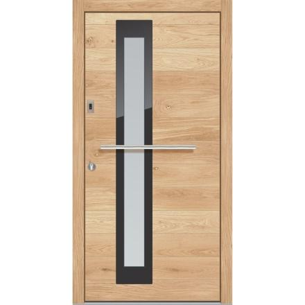 Vrhunska lesena vhodna vrata