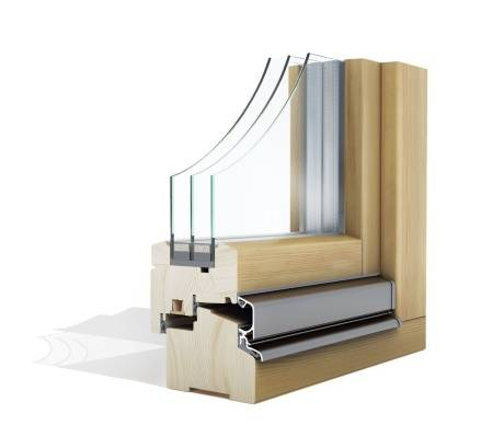 Lesena okna Optimo