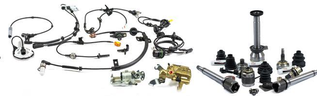 Izpušni sistemi in rezervni deli VW