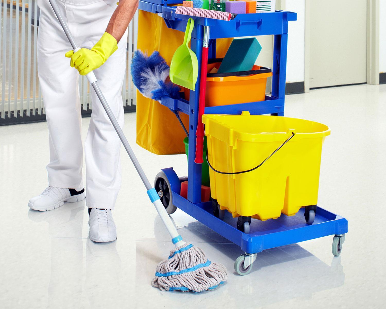 Specialno čiščenje prostorov