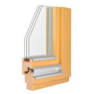 Lesena trislojna okna